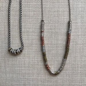 2 Fossil Necklaces